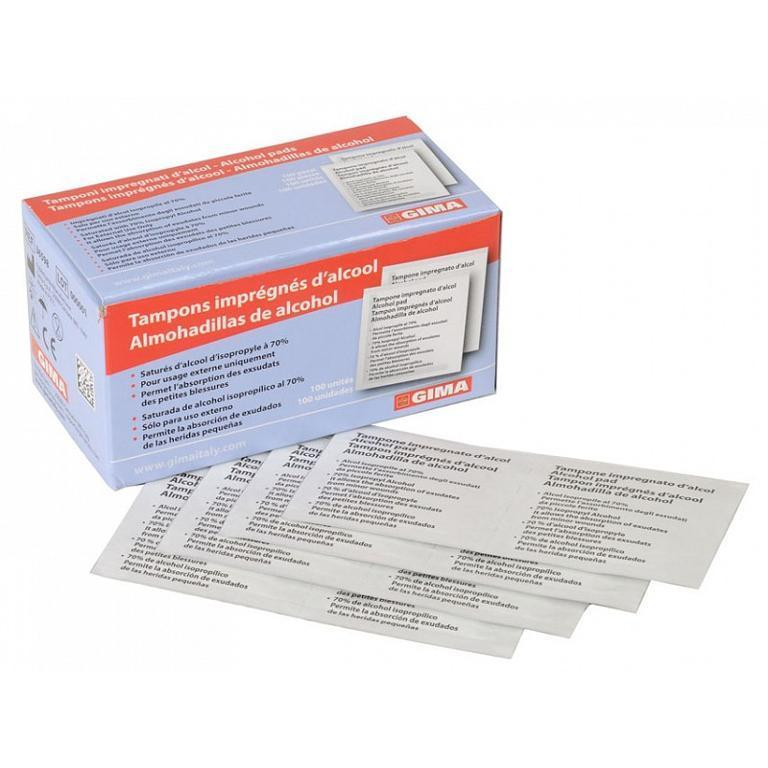 ALCOMED ALCOHOL tamponcini 100pz