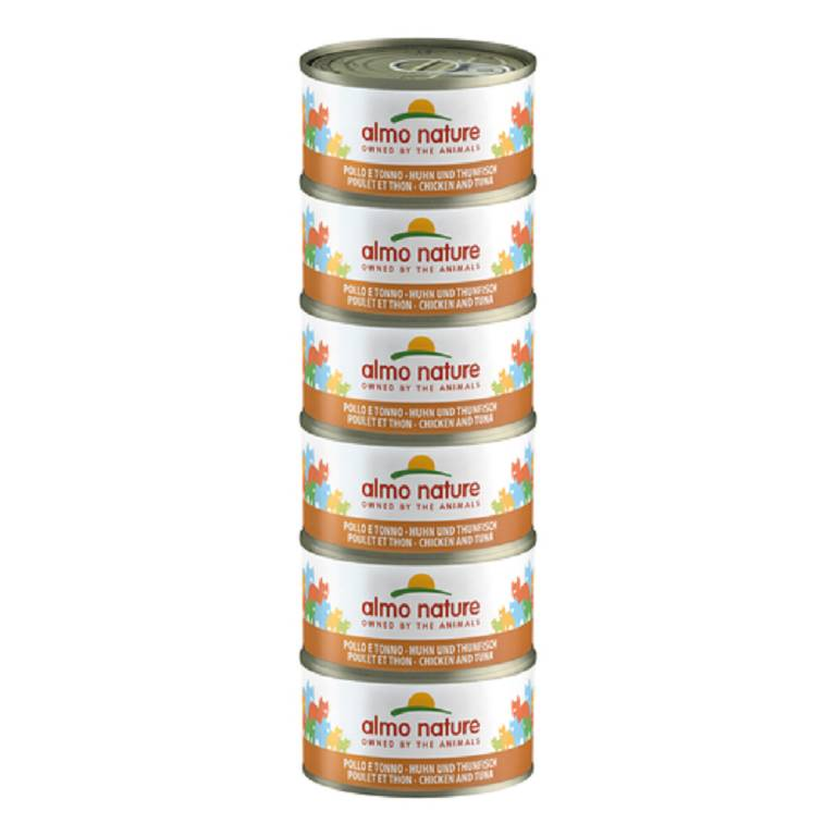 ALMO NATURE CAT TONNO POL 70G