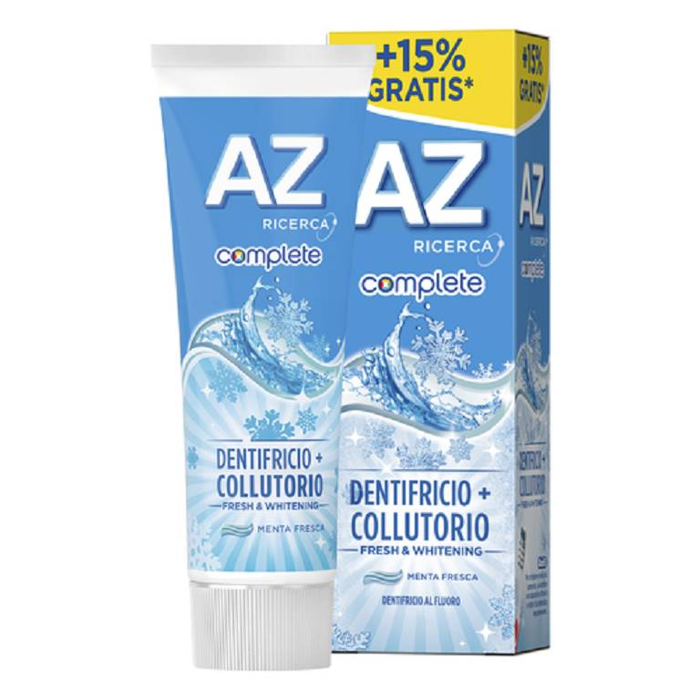 AZ COMPL+COLLUTORIO WHI65+10ML