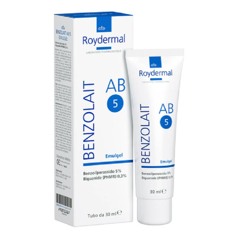 BENZOLAIT AB5 Plus Emulgel Acne 30ml
