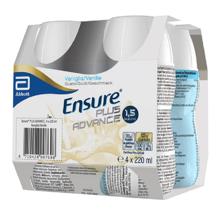 ENSURE PLUS ADVANCE VAN4X220ML